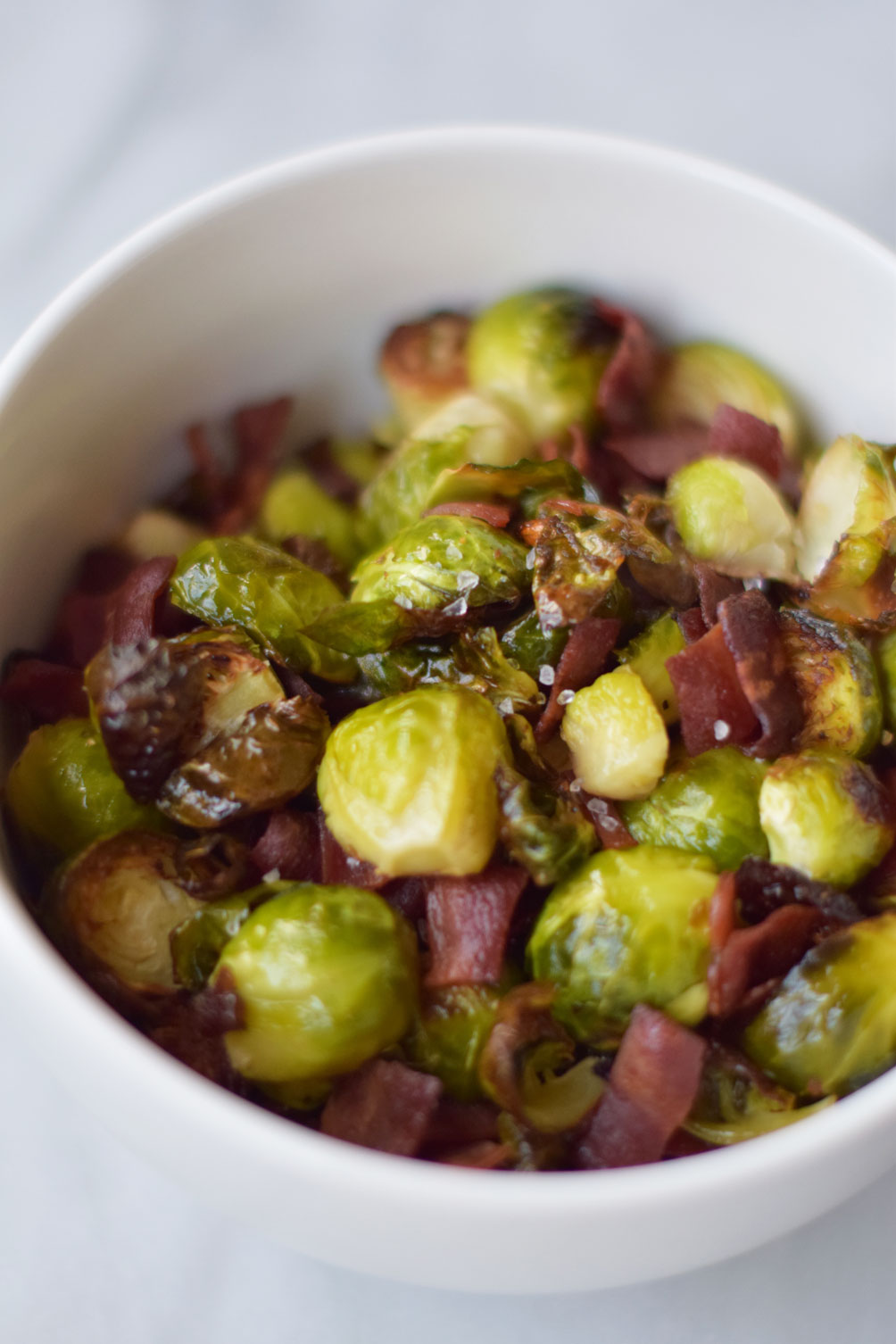 Maple Bacon Brussel Sprouts One Brass Fox