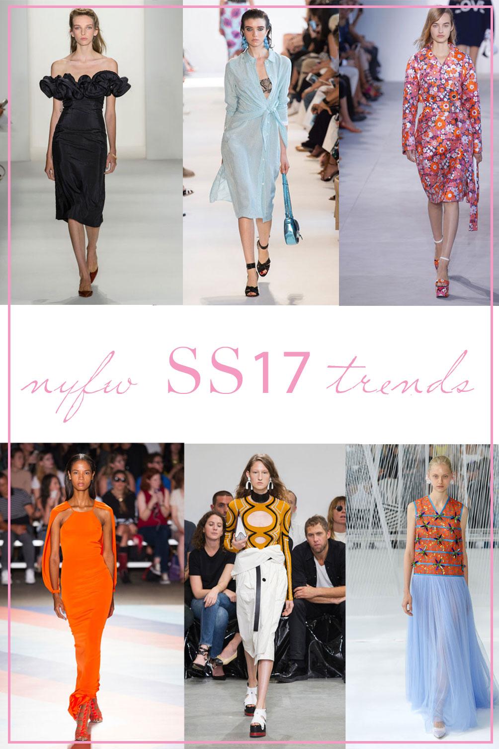 nyfw SS17 trends