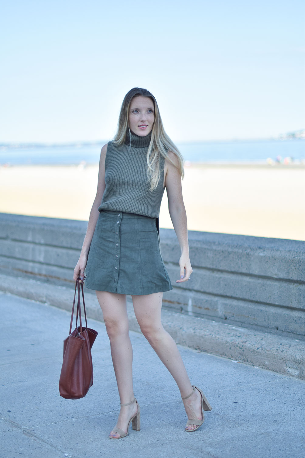 suede skirt for fall-9