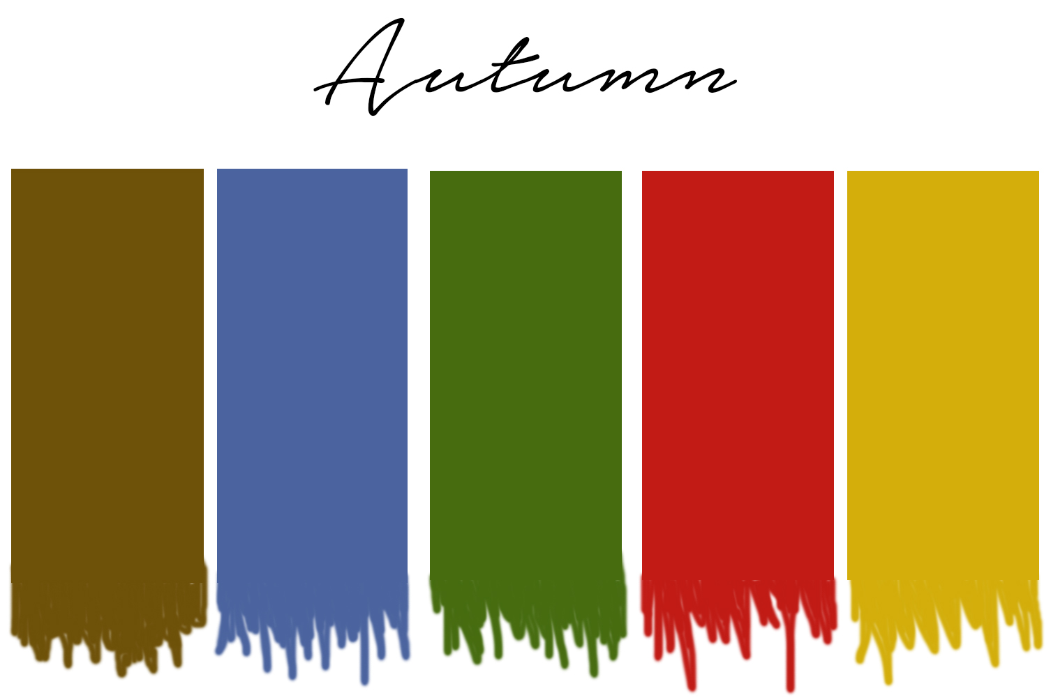 seasonal color analysis autumn color palette