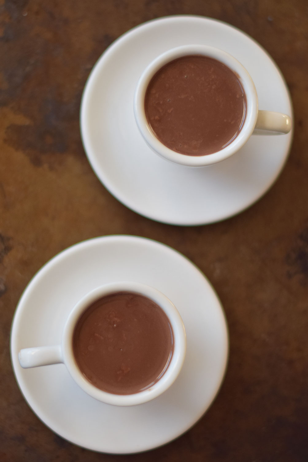 Leslie Musser shares an easy and delicious recipe for decadent sipping chocolate on one brass fox
