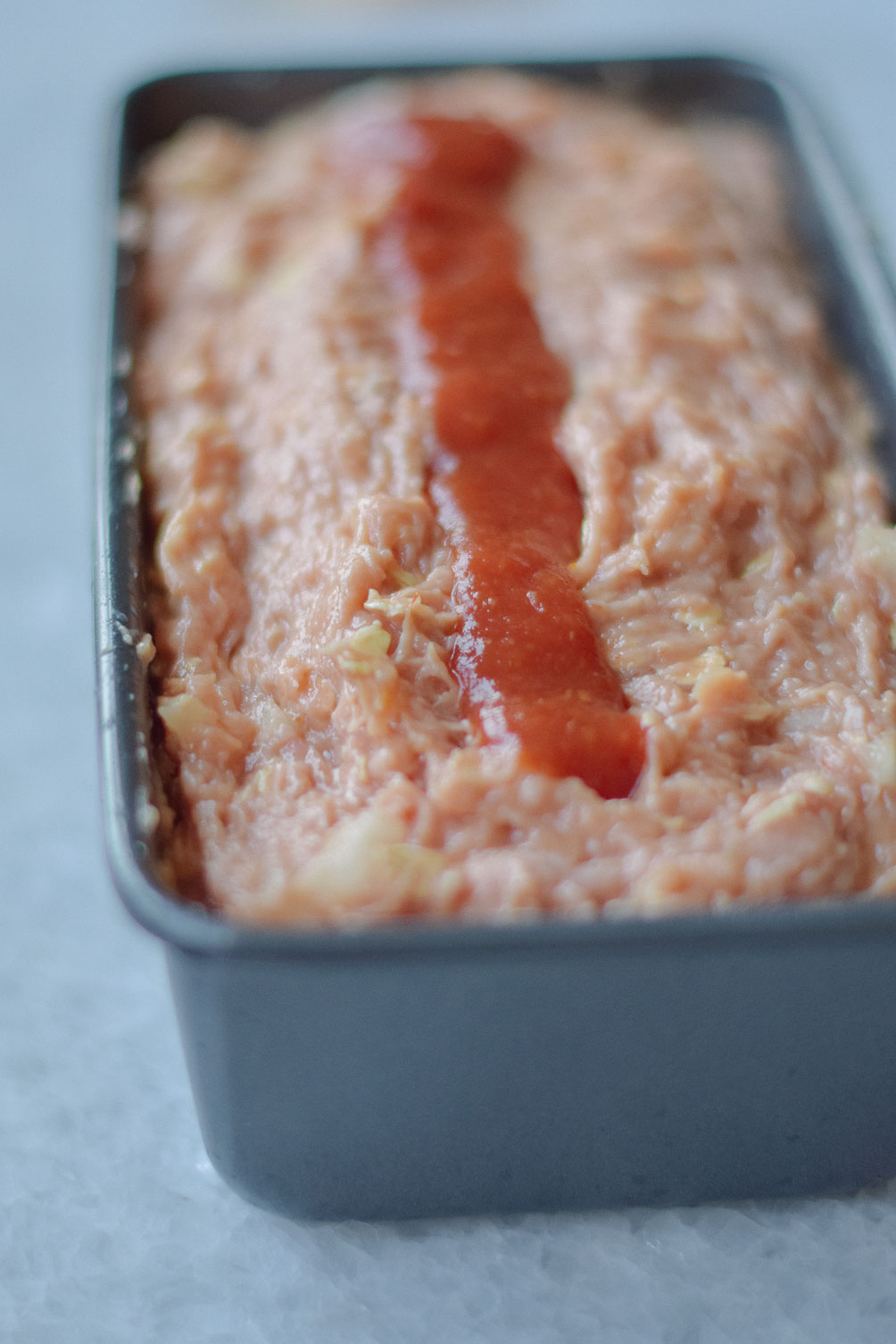 easy weeknight dinner recipe for healthy turkey meatloaf