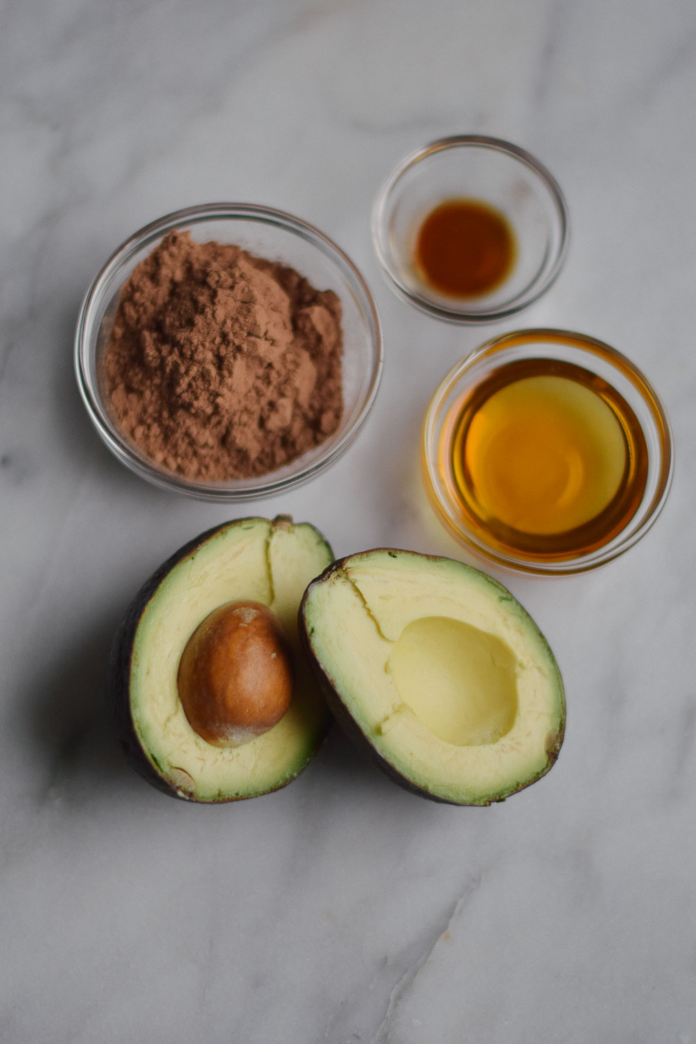 easy healthy dessert recipe for chocolate avocado mousse