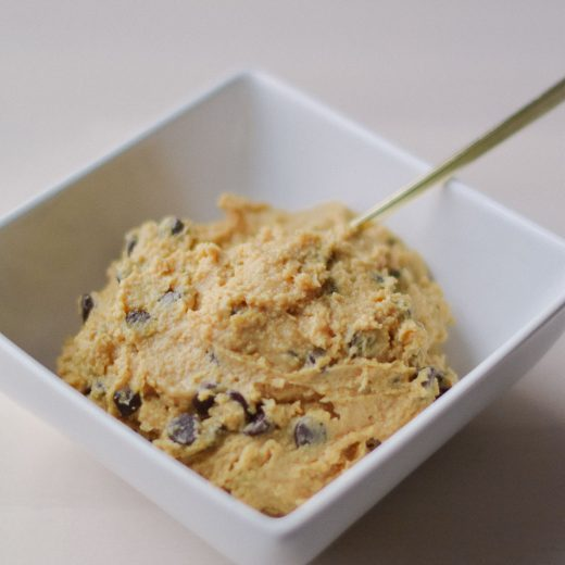 easy dessert recipe for healthy edible cookie dough