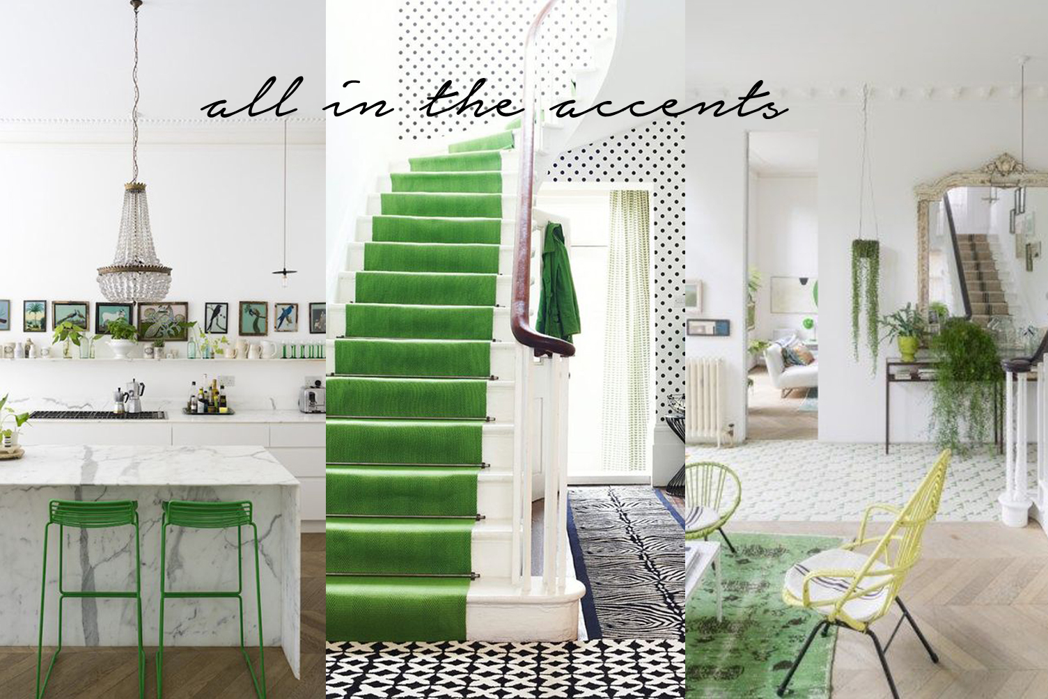 pantone greenery accent pieces for home decor inspiration