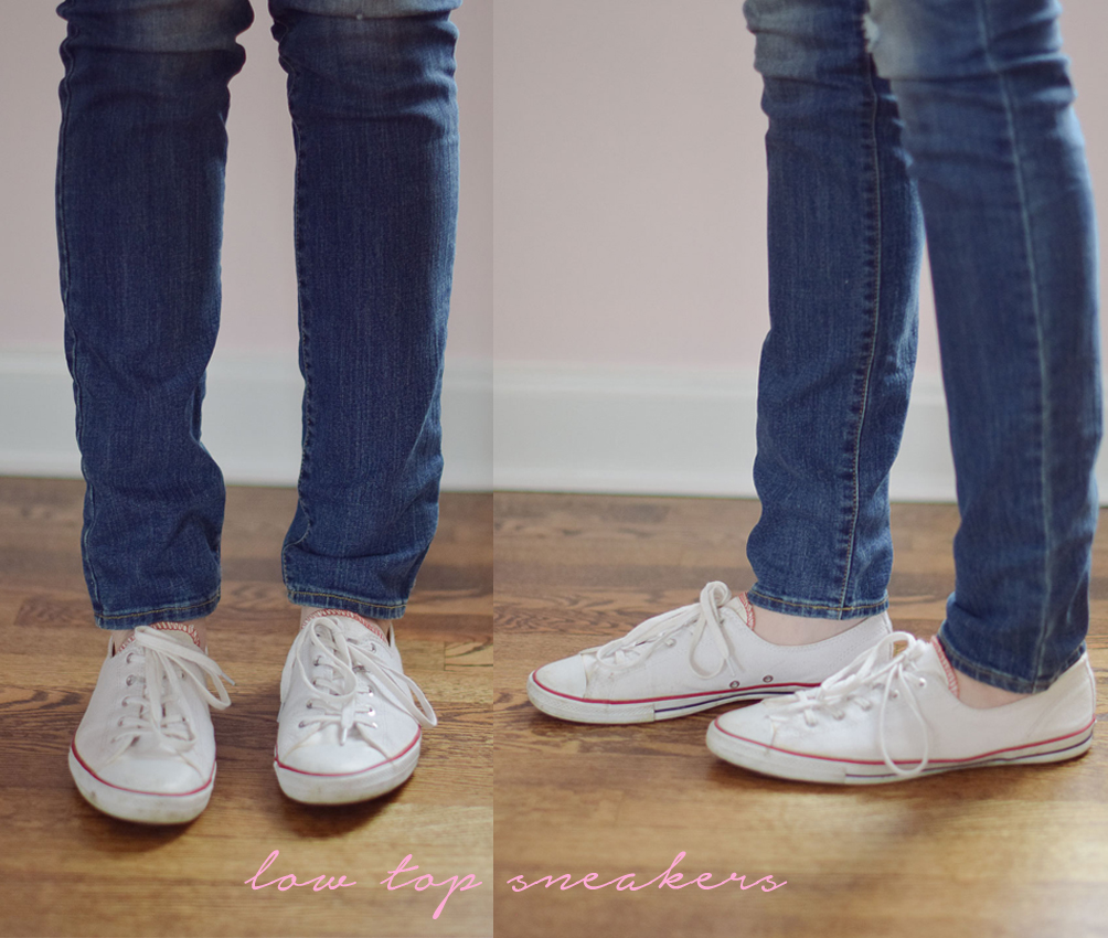 how to style skinny jeans with low top sneakers