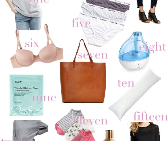 the fifteen things that help me find comfort during pregnancy