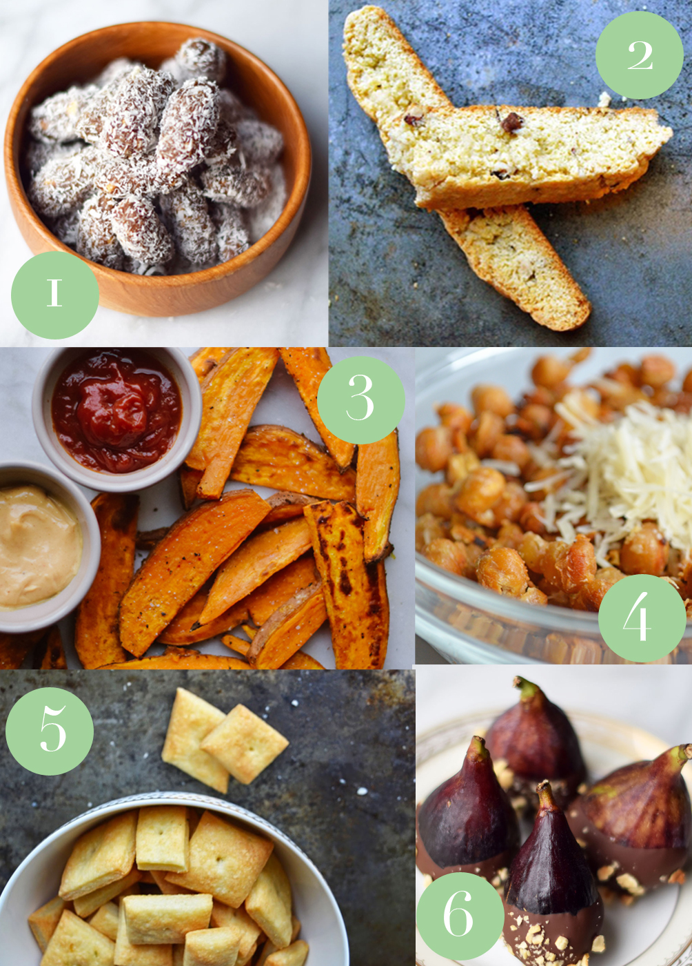 sharing six of the best quick spring snacks from savory to sweet