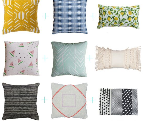 interior design tips for styling throw pillows