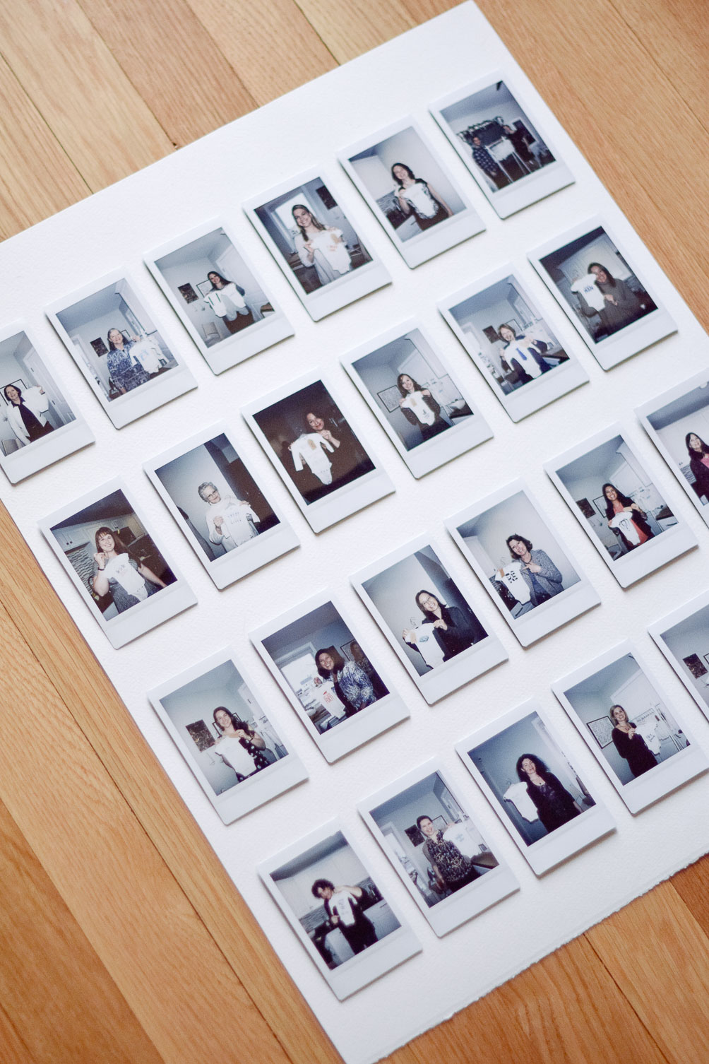 DIY instax photo gallery frame-11