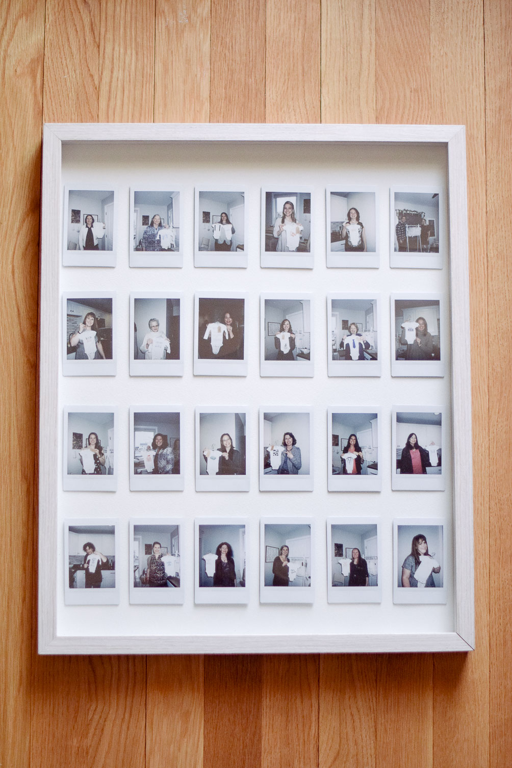 DIY instax photo gallery frame-12