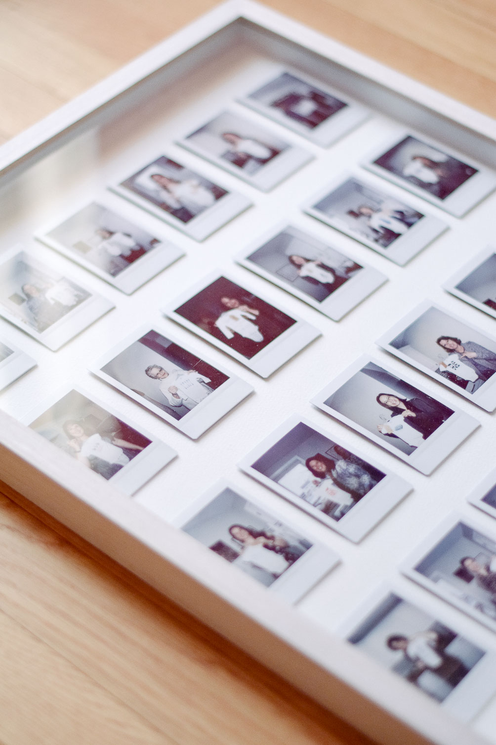 DIY instax photo gallery frame-13
