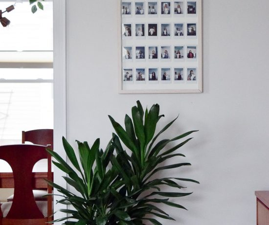 DIY instax photo gallery frame-16