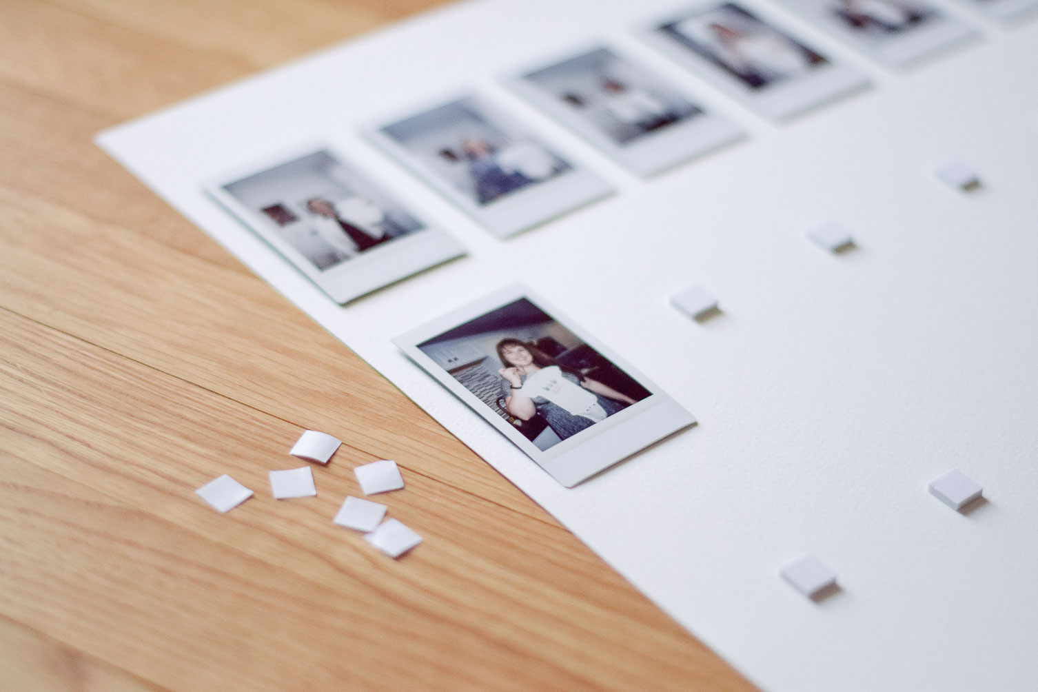 DIY instax photo gallery frame-9