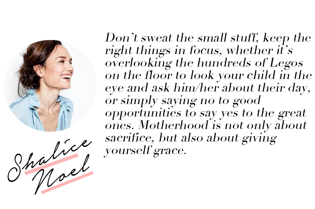 advice for a first time mother - Shalice Noel