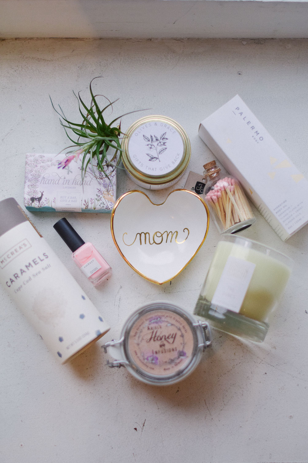 gift box ideas for mother's day with olives & grace boston
