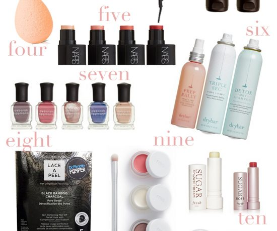 Nordstrom Sale Beauty Edition 2017