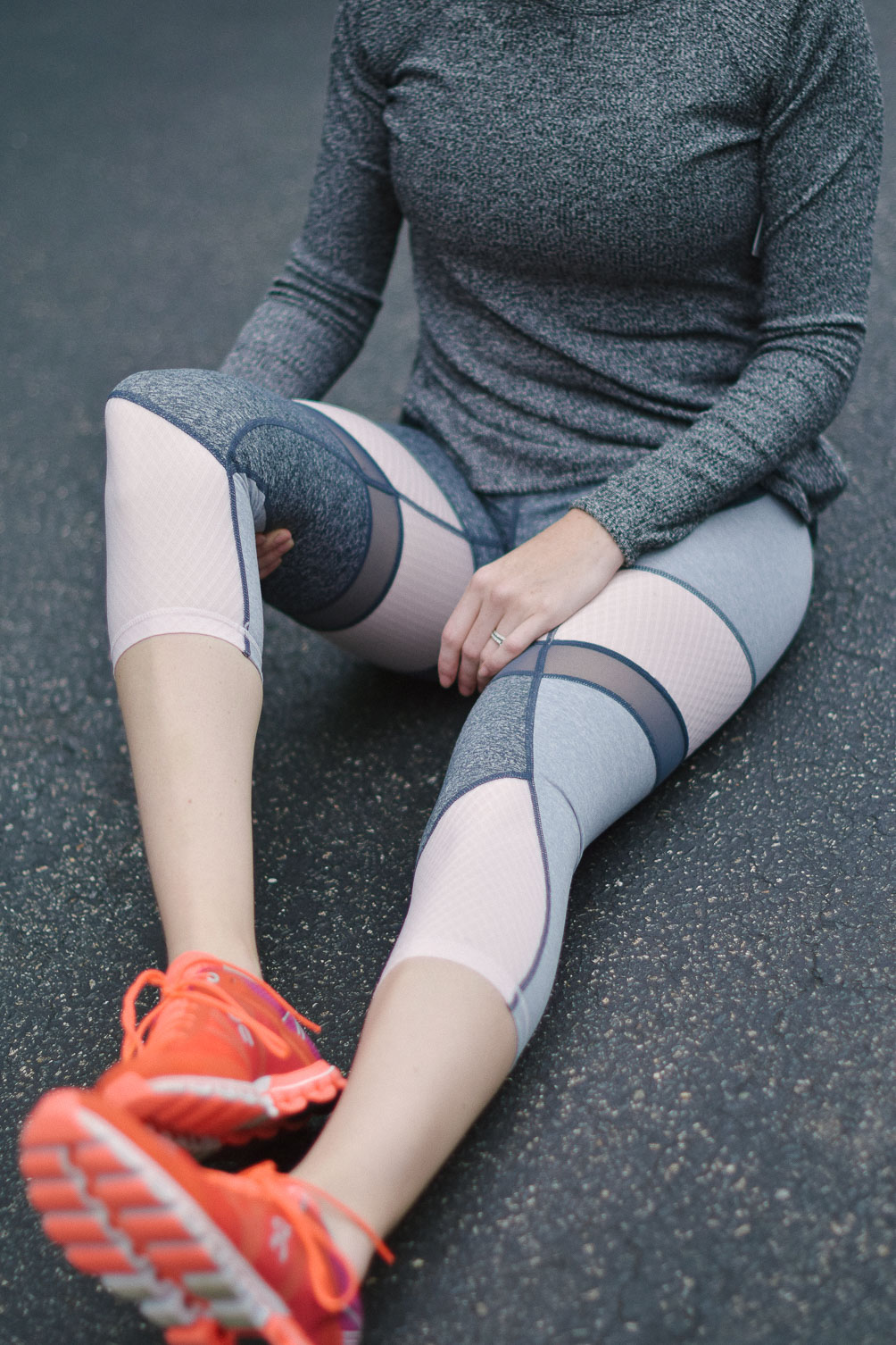 sharing activewear worth working out for in an athletic outfit post on one brass fox