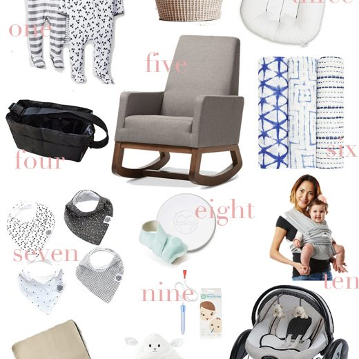 sharing the best baby products for new parents