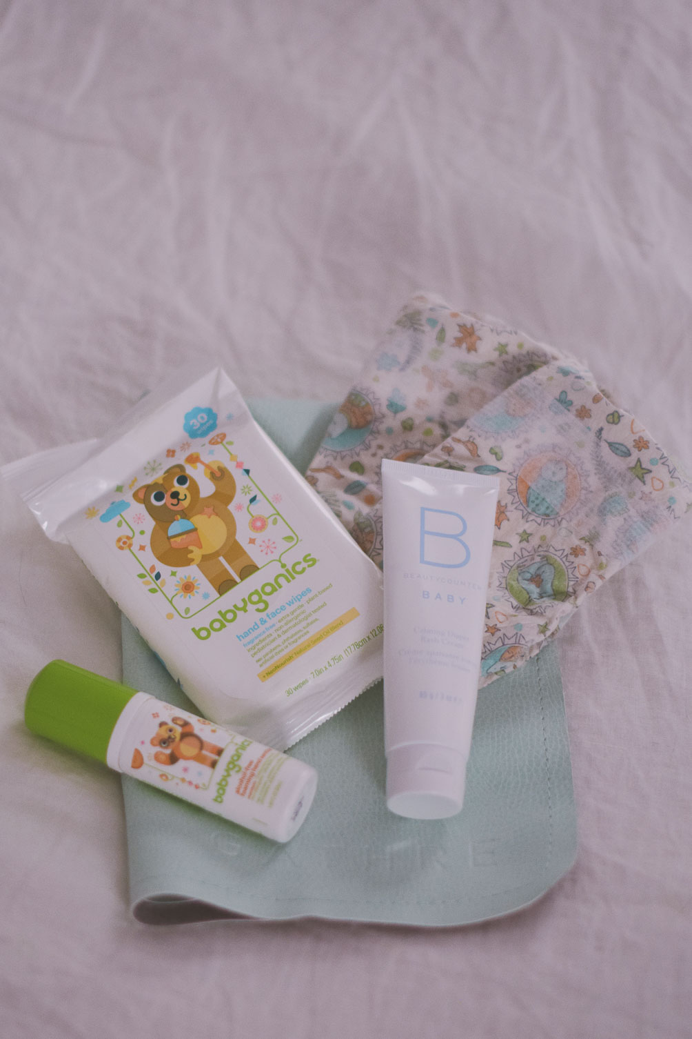sharing tips on infant travel - how to pack for a baby with downloadable PDF checklist