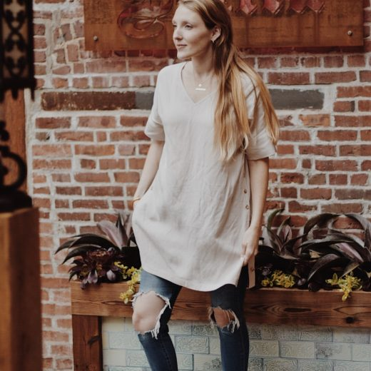 sharing how to wear one dress three ways with ethical fashion brand VETTA from my summer capsule wardrobe