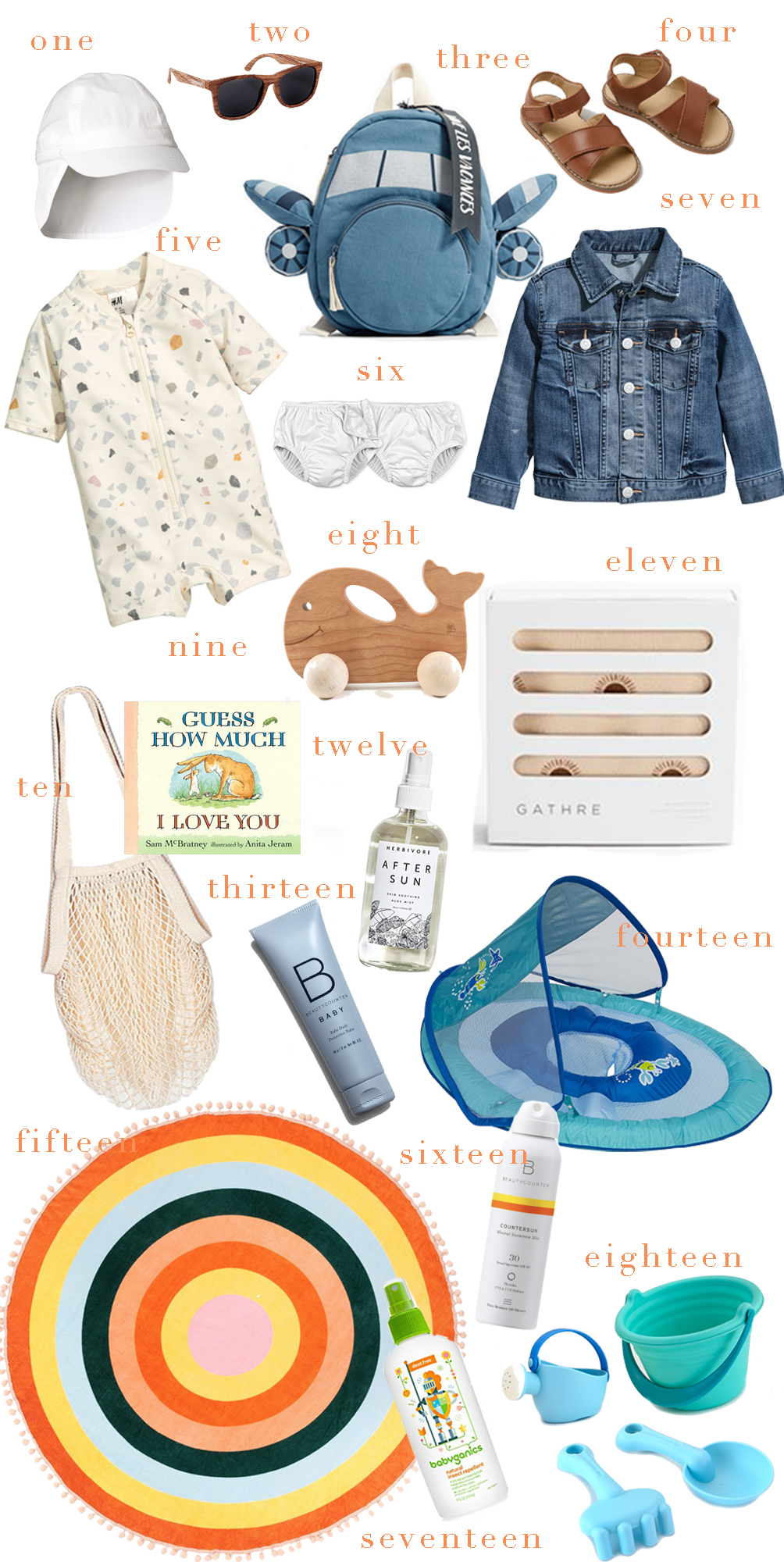 sharing our parenting advice for summer toddler travel essentials to pack for beach or warm weather vacations