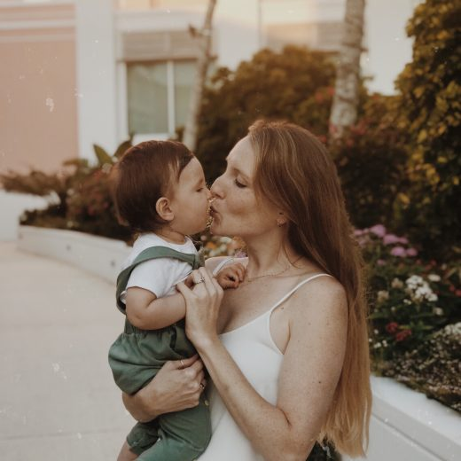 Leslie Musser sharing her favorite motherhood moment so far with her son on the lifestyle blog one brass fox