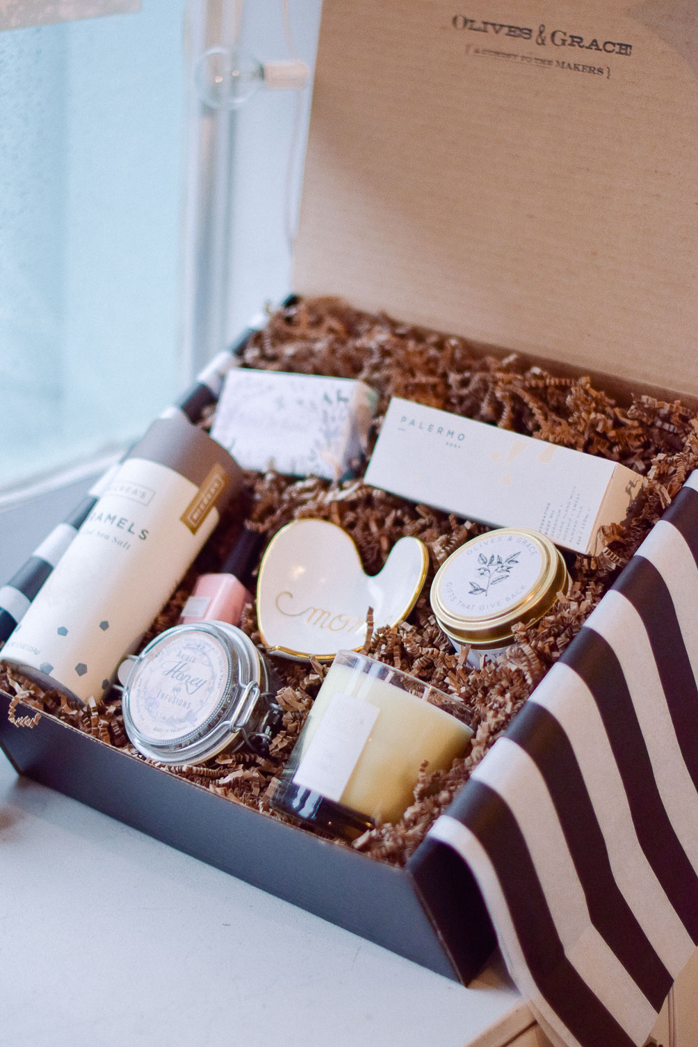 gift box ideas for mother's day - One Brass Fox