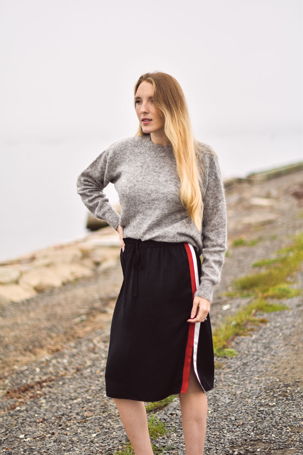 How to Wear a Mohair Sweater
