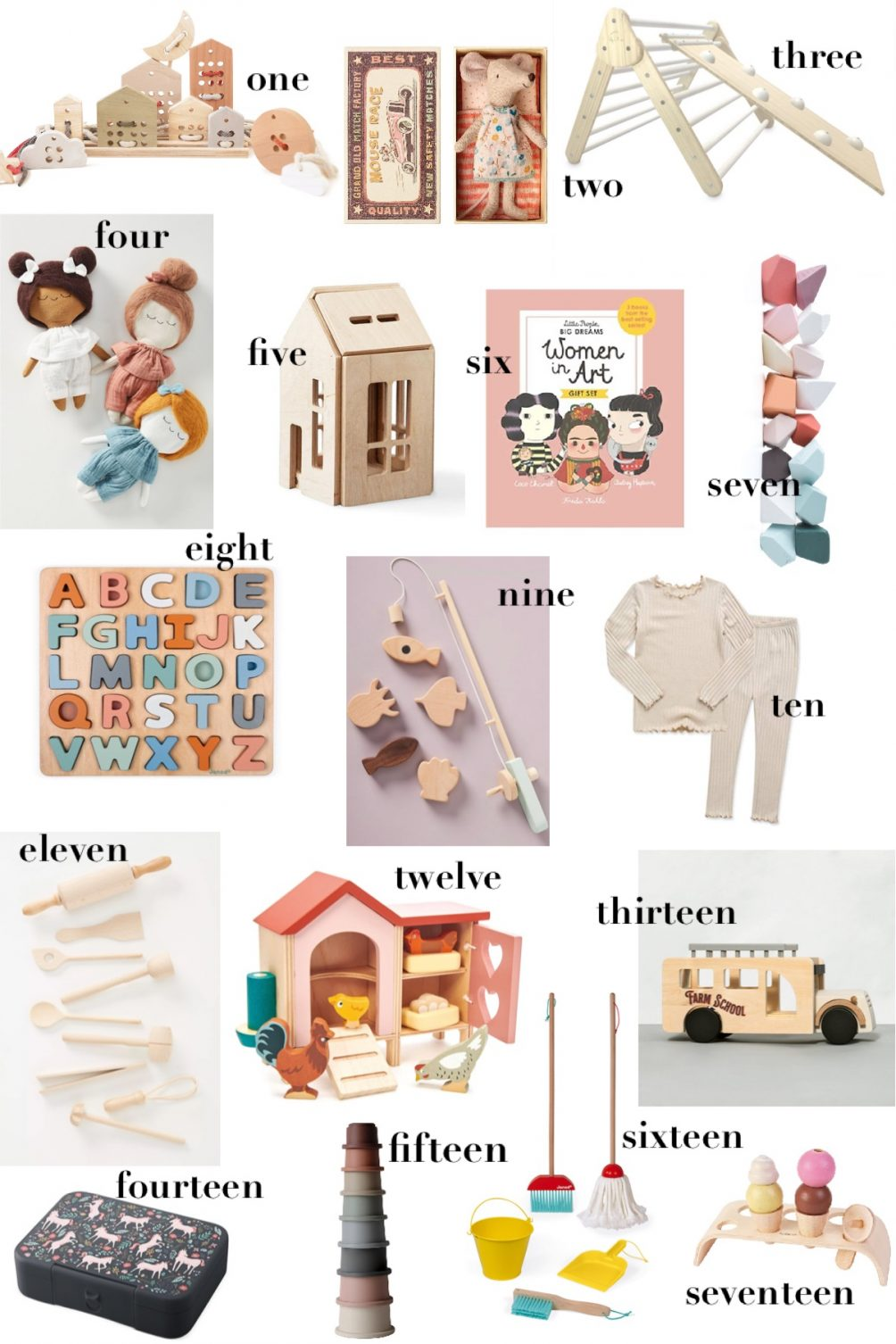 sharing my little kids gift guide 2020 for the holidays / leslie musser one brass fox